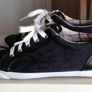 S10 new black coach Barrett sneakers
